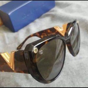 Louis Vuitton My Fair Lady Tortoise Sunglasses